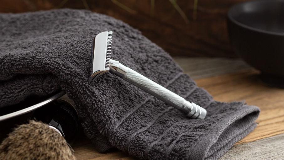 ein nachhaltig langlebiger Rasierhobel schont Haut und Umwelt